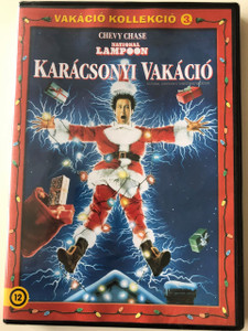 National Lampoon's Christmas Vacation DVD 1989 Karácsonyi Vakáció / Directed by Jeremiah S. Chechik / Starring: Chevy Chase, Beverly D'Angelo, Randy Quaid (5996514005356)