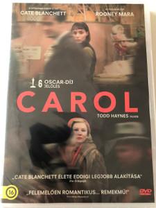 Carol DVD 2015 / Directed by Todd Haynes / Starring: Cate Blanchett, Rooney Mara (5999546338096)