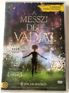 Beasts of the Southern Wild DVD 2012 A messzi dél vadjai / Directed by Benh Zeitlin / Starring: Quvenzhané Wallis, Dwight Henry / 2 DVD extra edition