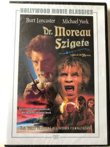 The Island of Dr. Moreau DVD 1977 Dr. Moreau Szigete / Directed by Don Taylor / Starring: Burt Lancaster, Michael York / Hollywood Movie Classics (5999546333787)