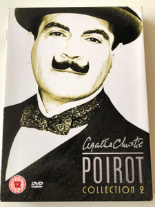 Agatha Christie's Poirot Collection Vol. 2 DVD 2005 / Directed by Clive Exton / Starring: David Suchet, Hugh Fraser, Philip Jackson & Pauline Moran