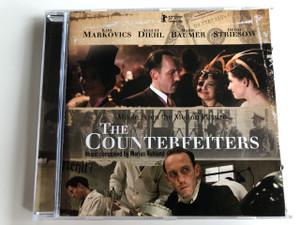 The Counterfeiters - Die Fälscher - Pénzhamisítók (Music From The Motion Picture) AUDIO CD 2007 / Soundtrack / Előadó: Marius Ruhland & Uli Auer / Karl Markovics, August Diehl, Marie Baumer, Devin Striesow (3299039918623)