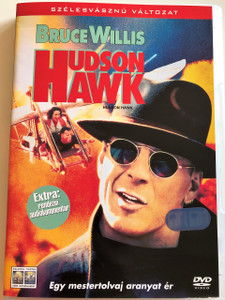 Hudson Hawk DVD 1991 / Directed by Michael Lehmann / Starring: Bruce Willis, Danny Aiello, Andie MacDowell, Richard E. Grant, Sandra Bernhard, Donald Burton, James Coburn (5999010443271)