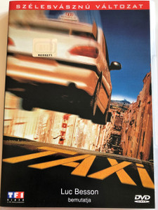 Taxi DVD 1998 / Directed by Gerard Pirés / Starring: Samy Naceri, Frédéric Diefenthal, Marion Cotillard, Manuela Gourary, Emma Sjöberg, Bernard Farcy / Produced by Luc Besson (5996255705812)