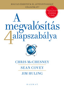 A megvalósítás 4 alapszabálya - HOGYAN ÉRHETJÜK EL LÉTFONTOSSÁGÚ CÉLJAINKAT? by SEAN COVEY, CHRIS MCCHESNEY, JIM HULING - HUNGARIAN TRANSLATION OF SUMMARY: The 4 Disciplines of Execution: Achieving Your Wildly Important Goals (9789632884035)