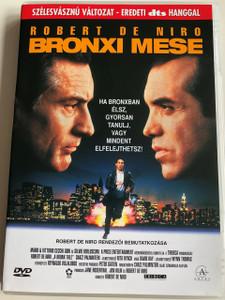 A Bronx Tale DVD 1993 Bronxi mese / Directed by Robert De Niro / Starring: Lillo Brancato, Jr., Robert De Niro, Chazz Palminteri, Francis Capra (5999542151163)