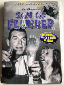 Son of Flubber DVD 1963 / Directed by Robert Stevenson / Starring Fred MacMurray, Nancy Olson, Keenan Wynn / Original Black & White Classic (786936233940)