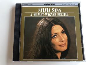 Sylvia Sass: A Mozart-Wagner Recital / Audio CD 1986 / Hungaroton / HCD12671-2 / Mozart, Wagner, Ervin Lukacs, Andras Korodi, Hungarian State Opera Orchestra, Sylvia Sass, Andras Schiff