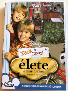 The Suite Life of Zack & Cody - Season 1 - Vol 3. DVD 2005 Zack és Cody Élete 1. Évad 3. lemez / Created by Danny Kallis, Jim Geoghan / Starring: Cole Sprouse, Dylan Sprouse, Brenda Song, Ashley Tisdale, Phill Lewis, Kim Rhodes (5996255731521)