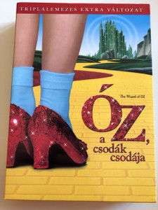 The Wizard of Oz DVD 1939 Óz, a csodák csodája / Directed by Victor Fleming, King Vidor / Starring: Judy Garland, Frank Morgan, Ray Bolger, Bert Lahr / 3 DVD Box Set (5996514005295)