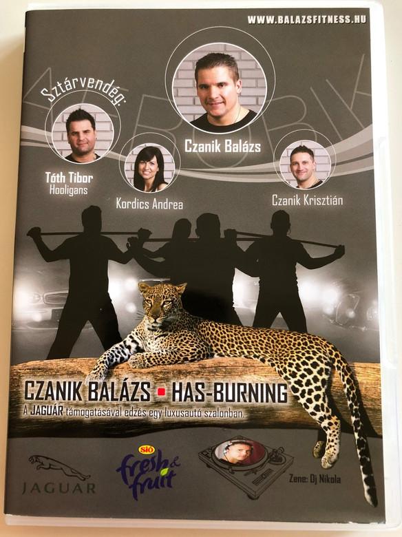 Has-Burning DVD 2018 Body Building / Aerobic movie with Czanik Balázs / Directed by Szentgyörgyi Géza (5999888012258)