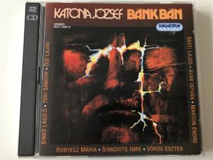 Katona József: Bánk Bán CD 2004 / Directed by Marton Endre / Téri Sándor, Ronyecz Mária, Sinkó László, Sinkovits Imre, Vörös Eszter / Music by Simon Zoltán / Hungaroton HCD 14320-21 / 2 CD (59991811432027)