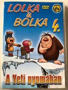 Lolka és Bolka 4. A Yeti nyomában DVD Bolek i Lolek 4. Yeti / Created by Wladyslaw Nehrebecki / Classic Polish Cartoon (5999545110822)