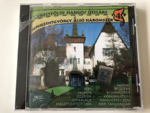 Székelyföldi Hangos Utitárs 4. Sepsiszentgyörgy, Alsó Háromszék CD 2007 Hungarian Audio Guide to Transylvania No. 4 / Dancs Market Records (SzekelyFoldiHangos4)
