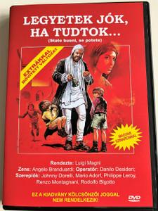 State buoni, se potete DVD 1983 Legyetek jók, ha tudtok / Directed by Luigi Magni / Starring: Johnny Dorelli, Mario Adorf, Philippe Leroy, Renzo Montagnani, Rodolfo Bigotto (5999552560016)