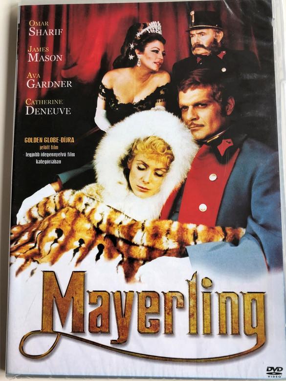 Mayerling DVD 1968 / Directed by Terence Young / Starring: Omar Sharif, Catherine Deneuve, James Mason, Ava Gardner (5996473011955)