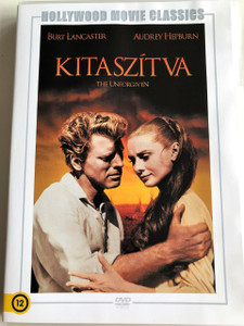 The Unforgiven DVD 1959 Kitaszítva / Directed by John Huston / Starring: Burt Lancaster, Audrey Hepburn, Audie Murphy (5999546335651 )