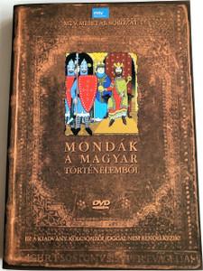Mondák a magyar történelemből DVD 1988 Legends from Hungarian history / Directed by Jankovics Marcell / MTV Mesetár sorozat (5999552560153)