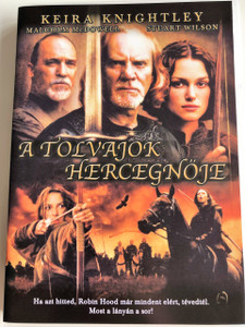 Princess of Thieves DVD 2001 A Tolvajok Hercegnője / Directed by Peter Hewitt / Starring: Keira Knightley, Malcolm McDowell, Stuart Wilson (5999546330816)