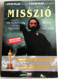The Mission DVD 1986 A Misszió / Directed by Roland Joffé / Starring: Robert De Niro, Jeremy Irons, Ray McAnally, Aidan Quinn, Cherie Lunghi, Liam Neeson (5999554190860)