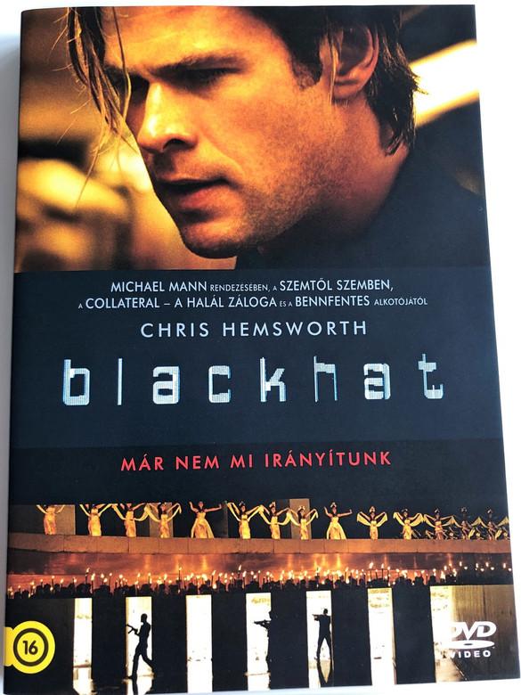Blackhat DVD 2015 / Directed by Michael Mann / Starring: Chris Hemsworth, Tang Wei, Viola Davis, Ritchie Coster, Holt McCallany, Yorick van Wageningen, Wang Leehom (8590548600975)