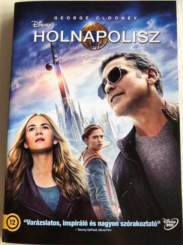 Tomorrowland DVD 2015 Holnapolisz / Directed by Brad Bird / Starring: George Clooney, Hugh Laurie, Britt Robertson, Raffey Cassidy, Tim McGraw, Kathryn Hahn, Keegan-Michael Key (5996514021400)
