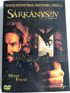 Dragonheart DVD 1996 Sárkányszív / Directed by Rob Cohen / Starring: Dennis Quaid, David Thewlis, Pete Postlethwaite, Dina Meyer, Julie Christie, Sean Connery (5996051042951)