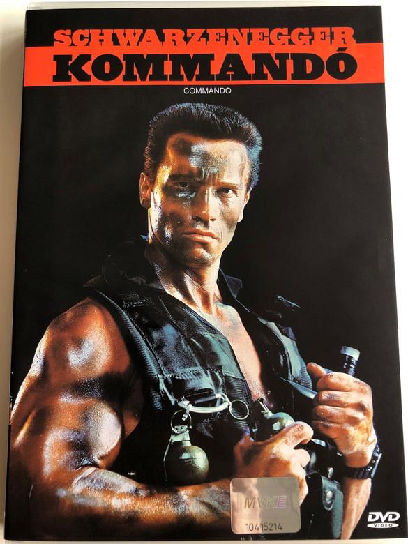 Commando DVD 1985 Kommandó / Directed by Mark L. Lester / Starring: Arnold Schwarzenegger, Rae Dawn Chong, Vernon Wells, Dan Hedaya, Alyssa Milano, James Olson (5996255705287)