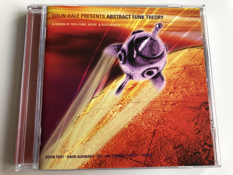 Colin Dale Presents - Abstract Funk Theory / A fusion of TECH-FUNK, HOUSE & ELECTRONICA / KEVIN YOST, DAVID ALVARADO, EBE, IAN O'BRIAN, FIREFLY, YENNER / AUDIO CD 1999 (743217140328)