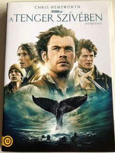 In the Heart of the Sea DVD 2015 A Tenger Szívében / Directed by Ron Howard / Starring: Chris Hemsworth, Benjamin Walker, Cillian Murphy, Tom Holland, Ben Whishaw, Brendan Gleeson (5996514023398)