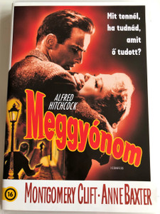 I Confess DVD 1953 Meggyónom / Directed by Alfred Hitchcock / Starring: Montgomery Clift, Anne Baxter, Karl Malden, Brian Aherne, O. E. Hasse (5996514016314)