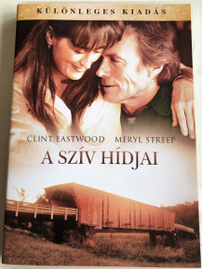 The Bridges of Madison County DVD 1995 A Szív hídjai / Directed by Clint Eastwood / Starring: Clint Eastwood, Meryl Streep / Special Edition (5996514005660)