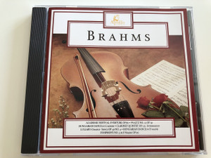Brahms / AUDIO CD 1995 / Academic Festival Overture Op 80 / Waltz No. 15 OP 39 / Hungarian Dance in G minor / Clarinet Quintet OP 115 - Intermezzo / Lullaby (Cradle - Song) OP 49 NO. 4 / Hungarian Dance in D major / Symphony NO. 3 in F Major OP 90 (5018482331227)