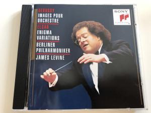 Debussy Images Pour Orschestre / Elgar Enigma Variations / Berliner Philhalmoniker / James Levine / AUDIO CD 1994 / SONY CLASSICAL (5099705328422)