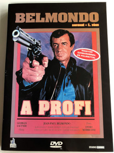 Le Professionnel DVD 1981 A Profi (The Professional) / Directed by Georges Lautner / Starring: Jean-Paul Belmondo, Jean Desailly, Robert Hossein / Music by Ennio Morricone / Belmondo Series I (5999881066326)