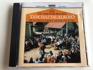 1993 XII. Magyarországi Táncháztalálkozó / Twelfth Hungarian Dance-House Festival / HCD 18223 / Hungaroton FonoFolk / AUDIO CD 1993 (5991811822323)