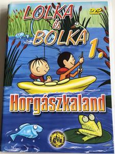 Lolka és Bolka 1. Horgászkaland DVD Bolek i Lolek 1. Yeti / Created by Wladyslaw Nehrebecki / Classic Polish Cartoon (5999545110754)