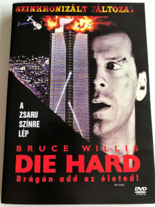 Die Hard DVD 1988 Drágán add az életed! / Directed by John McTiernan / Starring: Bruce Willis, Alan Rickman, Alexander Godunov, Bonnie Bedelia (5996255712704)