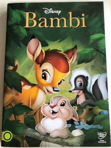Bambi DVD 1942 / Walt Disney / Directed by David Hand, James Algar / Based on Felix Salten's novel / 2013 release (5996514013757)