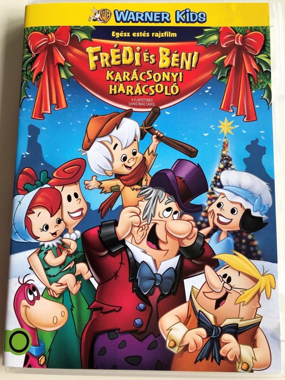 Hanna Barbera Christmas Dvd.A Flintstones Christmas Carol Dvd 1994 Fredi Es Beni Karacsonyi Haracsolo Directed By Joanna Romersa Written By Glenn Leopold Hanna Barbera