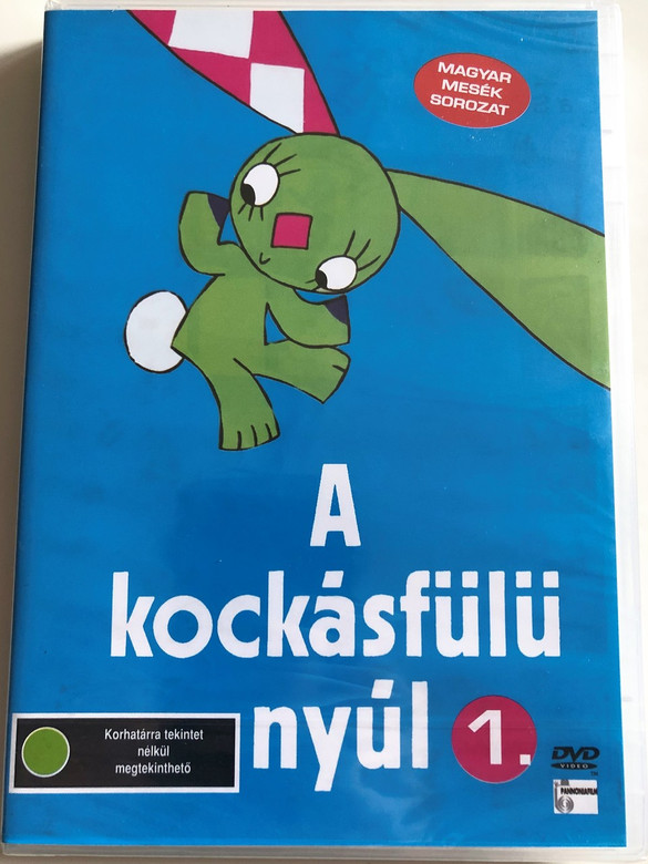 A kockásfülű nyúl 1. DVD 1978 The rabbit with checkered ears 1. / Directed by Richly Zsolt / Hungarian Classic Cartoon (5999551920088)