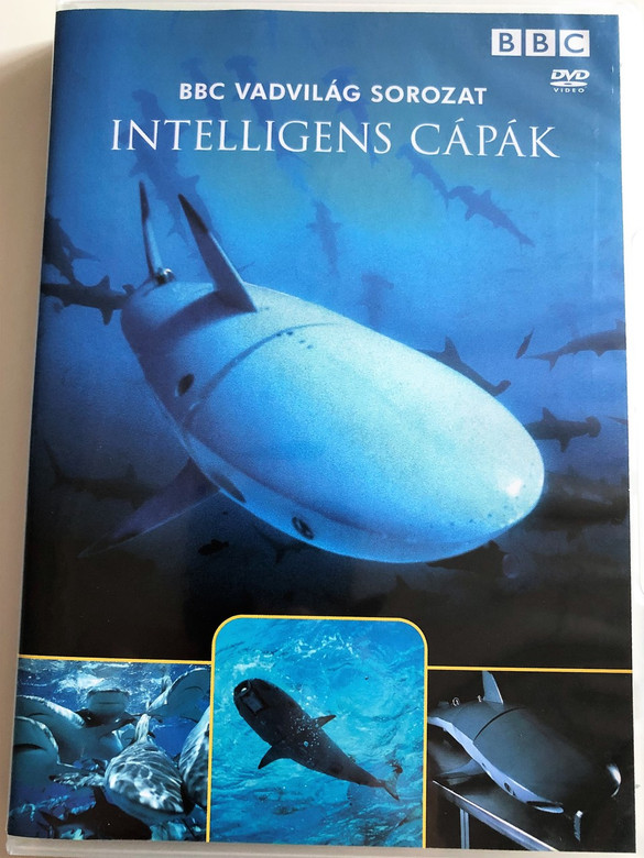Intelligens Cápák / Smart Sharks: Swimming With Roboshark / BBC Wildlife Series / Narrated by Sir David Attenborough / DVD 2003 / BBC Vadvilág Sorozat (5996473006029)