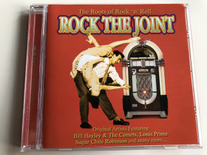The Roots of Rock 'n' Roll - Rock The Joint / AUDIO CD 2003 / Original Artist Featuring: Bill Hayley & The Comets, Louis Prima, Sugar Chile Robinson and many more... (5033606002128)