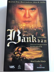 Bánk Bán VHS 2002 / Directed by Káel Csaba / Starring: Marton Éva, Rost Andrea, Kiss B. Attila / Written by Erkel Ferenc / Hungarian Opera film (5999544241398)