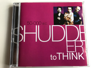 50,000 B.C. - SHUDDER TO THINK / AUDIO CD 1997 / Producer: Ted Niceley / Craig Wedren, Stuart Hill, Chris Matthews, Mike Russell, Nathan Larson, Adam Wade, Kevin March, Mark Watrous, Jesse Krakow (5099748693860)