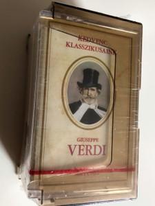 Giuseppe Verdi / Kedvenc Klasszikusaink / Favorite Classics / Set of 3 Audio Casettes / Reader's Digest 2002 / MS 0201-BL