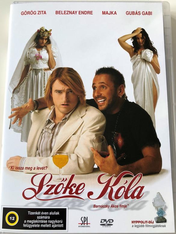 Szőke Kóla DVD 2005 Blonde Cola / Directed by Barnóczky Ákos / Starring: Görög Zita, Beleznay Endre, Majka, Gubás Gabi (5999544151857)