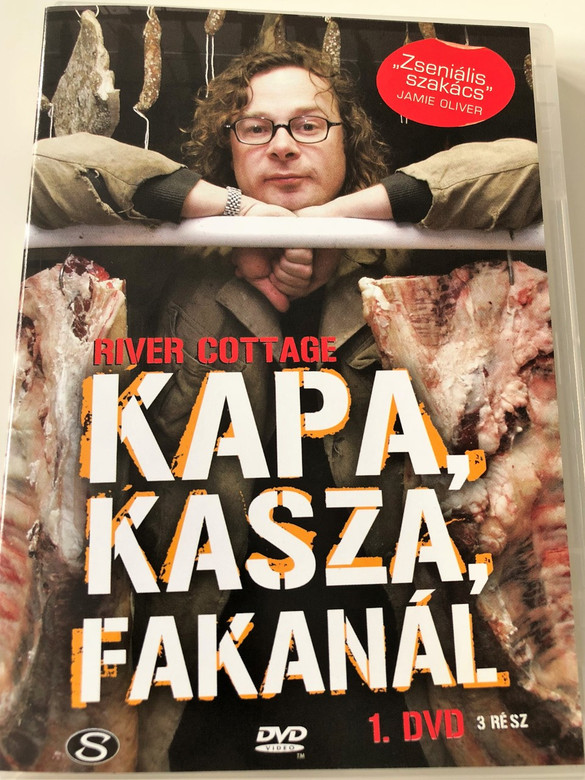 River Cottage Episode 3. DVD 1999 Kapa, Kasza Fakanál 3. rész / Directed by Zam Baring, Andrew Palmer, Billy Paulett / Cooking with Hugh Fearnley-Whittingstall (5990502068002)