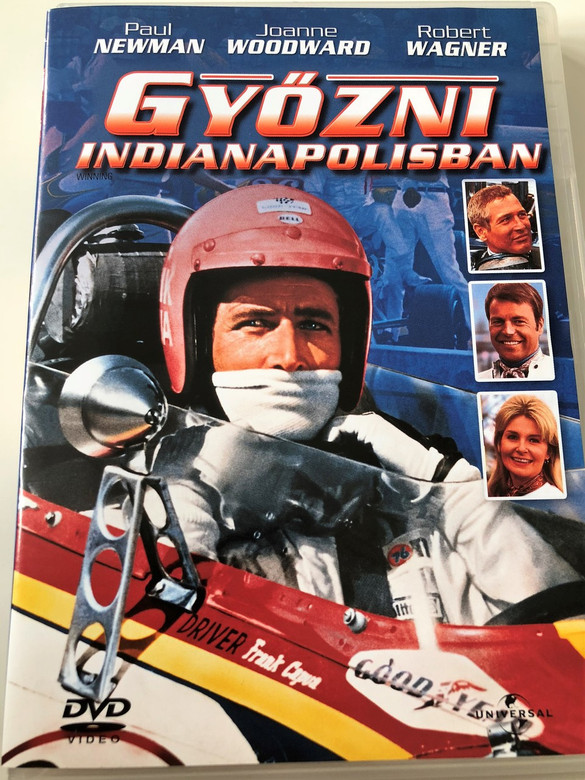 Winning DVD 1969 Győzni Indianapolisban / Directed by James Goldstone / Starring: Paul Newman, Joanne Woodward, Robert Wagner (5996051050093)