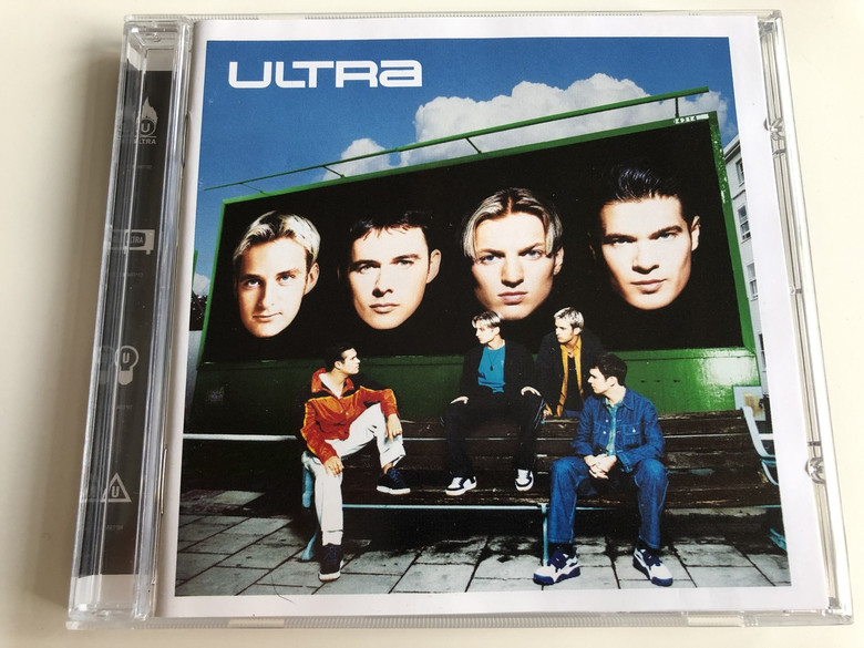Ultra / AUDIO CD 1998 / James Hearn, Jon O'Mahony, Michael Harwood, Nick Keynes: British pop band (639842224529)